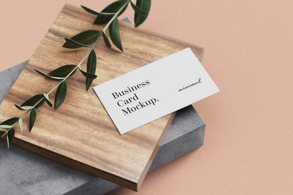 Thiết kế namecard cũng rất dễ dàng