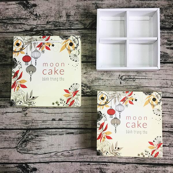 Mẫu thiết kế hộp giấy đựng bánh Trung thu