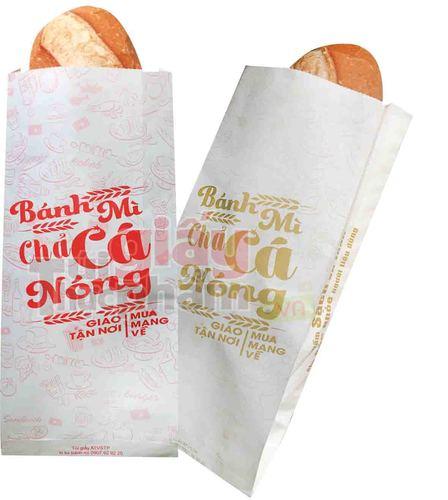 in bao giấy đựng bánh mì